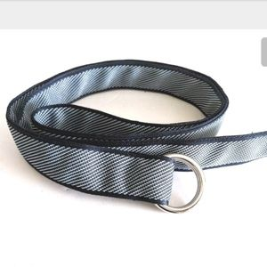 Peter MiIlar Canvas Belt XXL Navy Blue O Ring
